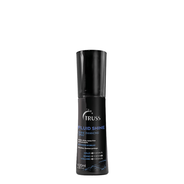 Спрей для усиления блеска волос с эффектом «anti-frizz» TRUSS FLUID SHINE 120 мл.